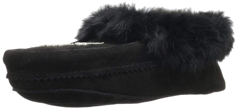 Black Manitobah Mukluks Women's Tipi Moc Slipper