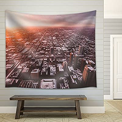 Chicago City Skyline USA Fabric Wall, With a Professional Touch, Gorgeous Artisanship