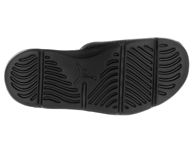 Black jordan sandals - Black Jordan Sandals 5