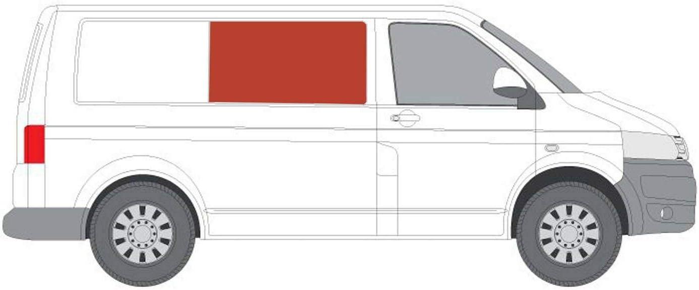 Mano derecha, tintado oscuro fijo ventana para puerta corredera panel OPP. VW TRANSPORTER T6 (2015 sobre): Amazon.es: Coche y moto