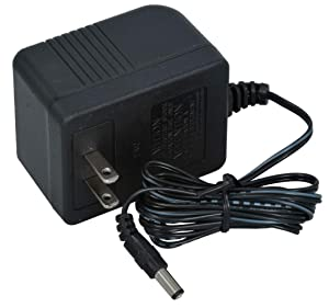 AC to AC Wall Adapter Transformer 24 Volt AC @ 1000mA Black Straight 2.1mm Female Plug