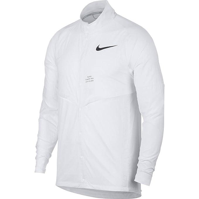 Amazon.com: Nike Run división para hombre chamarra para ...
