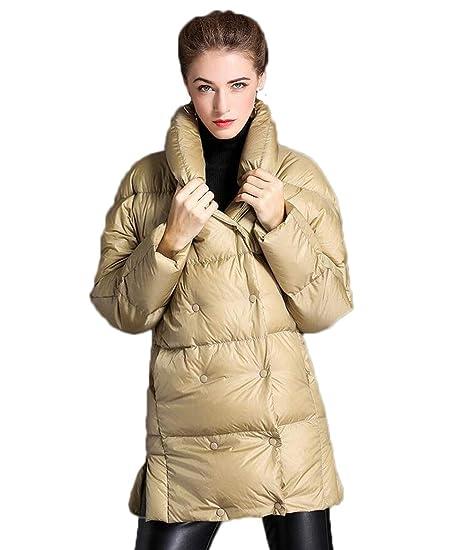 hot sales e9700 63d50 JBHURF Piumino da Donna Winter Fashion Ispessimento Stand ...