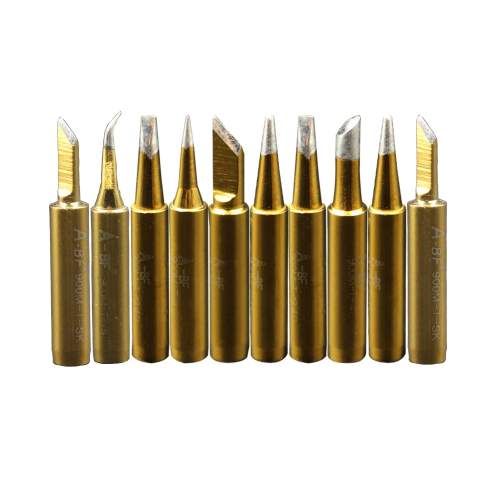 a bf 10pcs 900m soldering iron tips for hakko radio shack tenma atten quick ebay. Black Bedroom Furniture Sets. Home Design Ideas