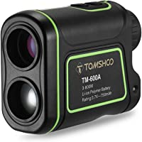TOMSHOO Golf Rangefinder Outdoor Compact 600M/1000M Range Finder Hunting Monocular Telescope Distance Meter Speed Tester