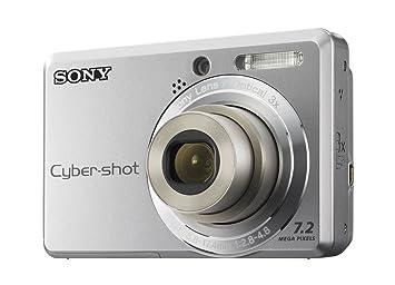 Sony DSC-S730-CEH - Cámara Digital Compacta 7.2 MP - Plata