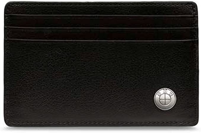 Genuine BMW Black Mens M Leather Wallet With Coin Holder 80212454667