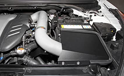 Amazon.com: 13-14 Hyundai Veloster Turbo 1.6L L4 K&N Typhoon Cold Air Intake Kit + Filter Silver 69-5312TS: Automotive