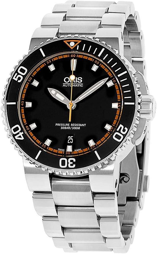Oris Aquis Reloj de hombre automático 43mm correa de acero 01 733 7653 4128-MB