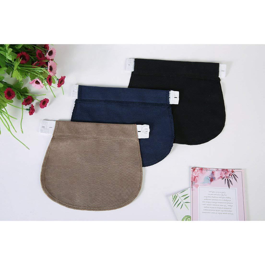 Dfhjsxdfrghxfgh Es Embarazo De Maternidad Cintura Cinturon Ajustable Elastico Cintura Extensor Ropa Pantalones Para Embarazadas Negro Dfhjs Fajas De Embarazo