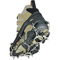 Uelfbaby Crampon Micro Spikes ice Snow Grips Traction Cleats System Safe Protect for Walking, Jogging, or Hiking on Snow and Ice
