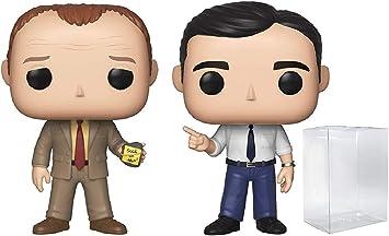 Funko TV: The Office - Toby vs Michael 2 Pack Pop! Vinyl Figure (Includes Compatible Pop Box Protector Case)