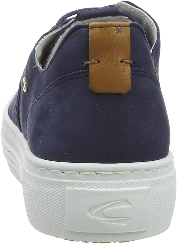 camel active Women's Innocence 70 Low-Top Sneakers Blue (Jeans 2)