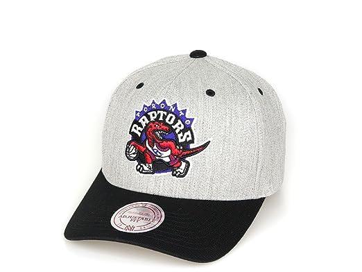 2cbd16ba458ff Mitchell   Ness Toronto Raptors Snapback Cap - Team Logo 2-Tone 110 - Grey