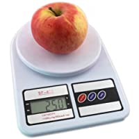 Báscula Electronic Kitchen Scale de Cocina Digital Práctica Resistente Excelente Calidad LCD Precisión Comida Facilidad Capacidad 5Kg X 1G