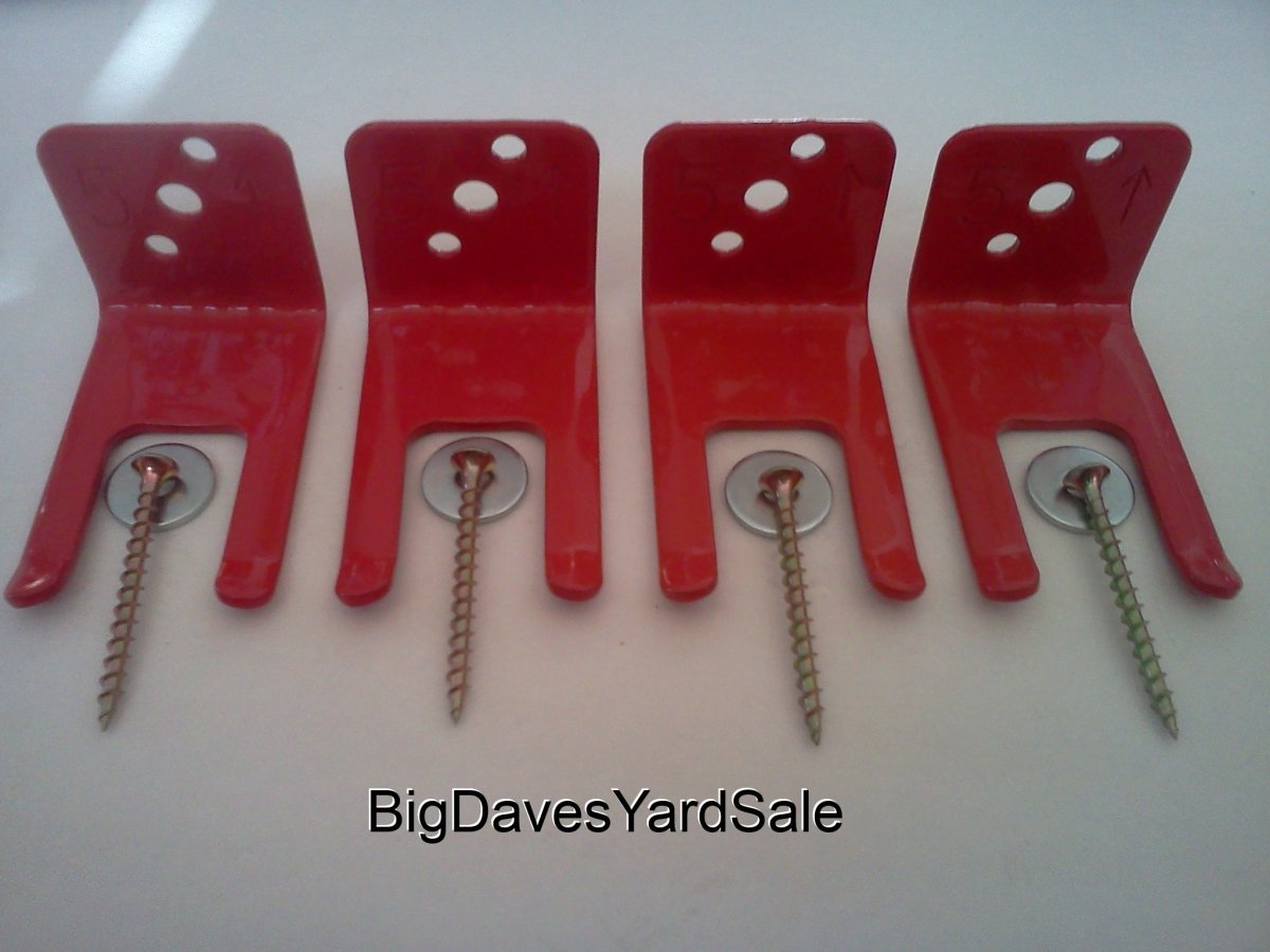 BigDavesYardSale 710822944627 4 - Fire Extinguisher Bracket with Amerex fork Style Wall Hook44; Mount & Hanger44; 2.5 to 5 lbs