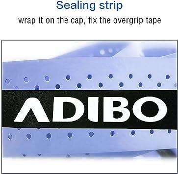 Raqueta Grip, ADIBO antideslizante absorbente Overgrips para raqueta tenis bádminton, 3pcs/Pack - Purple + Orange + Yellow: Amazon.es: Deportes y aire libre