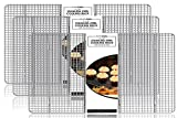 Baking Rack, Cooling Rack, TRIPLE SET OF 14'' X 20'' Stainless Steel 304 Grade Roasting Rack - Heavy Duty Oven Safe, Commercial Quality Cooling Racks For Baking (14'' X 20'')