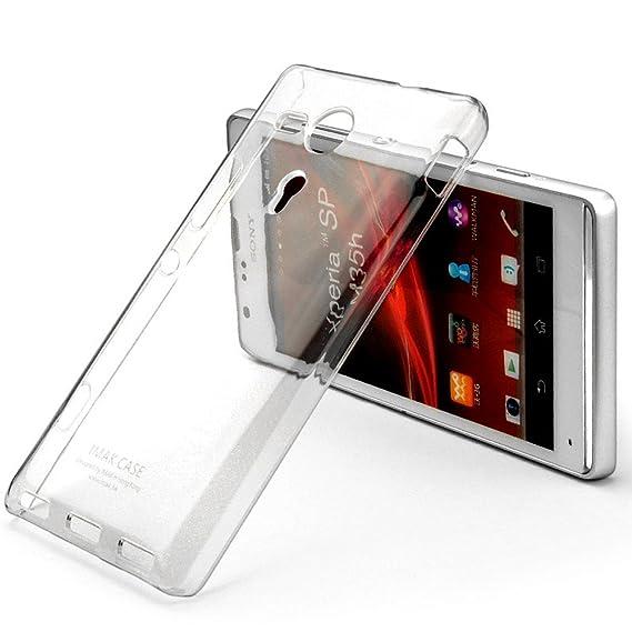 big sale c4191 626c7 Heartly Imak Crystal Transparent Flip Thin Hard Bumper Back Case ...