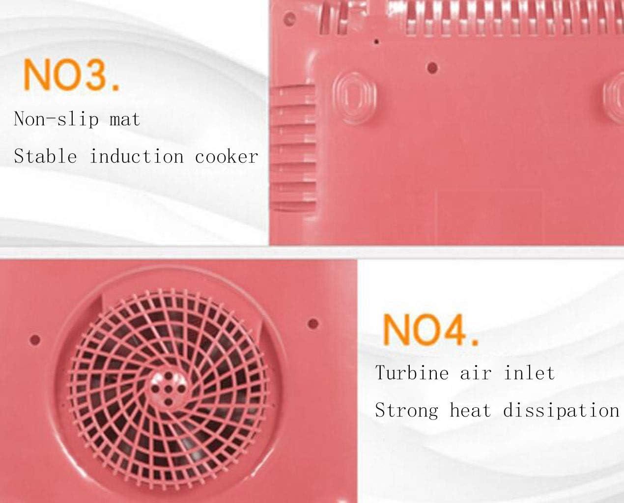 XGHW Cocina de inducción Placa de inducción portátil Mini Quemador ...