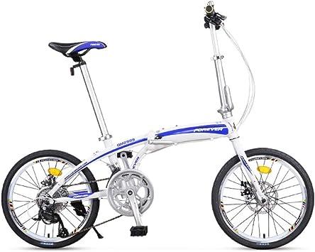 DBSCD Bicicletas Plegables para Adultos, Bicicletas Plegables ...