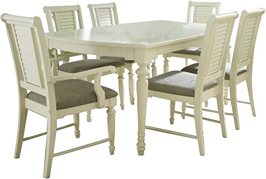 Broyhill Seabrooke Casual Dining Room Set With Dining Table Arm Chair And Side Chair Table Chair Sets Amazon Com