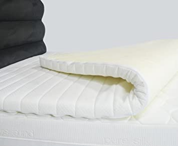 thick mattress pad. 4ft6 Double 3\ Thick Mattress Pad E
