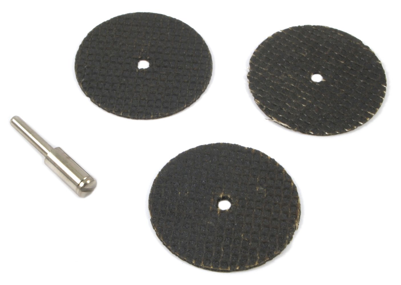 Forney 60214 Cut Off Wheel Kit with 1//8-Inch Mandrel 4-Piece 1-1//2-Inch
