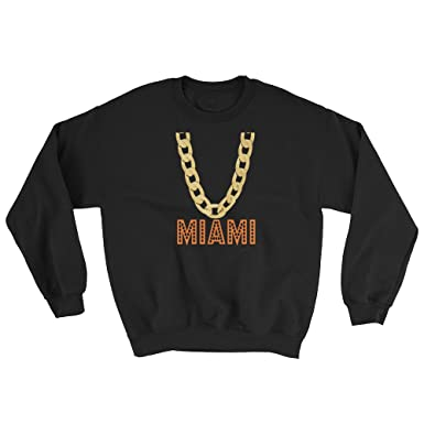 Miami Florida Sweatshirt Fan Novelty Apparel For Adults Teens Kids Fun Christmas Gifts