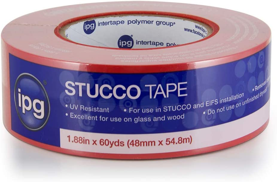 "IPG Stucco Masking Tape,1.88"" x 60 yd, (Single-Roll)"