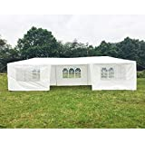 Mefeir 10' x 30' with 7 sidewalls Party Wedding Outdoor BBQ Patio Tent Canopy Gazebo Pavilion Events Canopies