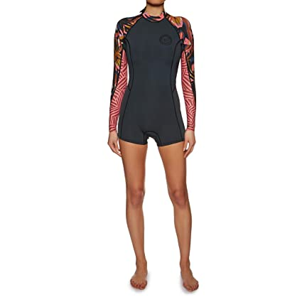 8ff28782cd Amazon.com   Billabong Womens Spring Fever 2MM Long Sleeve Back Zip ...