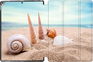 iPad Pro 12.9 Case 2017 A1670 / A1671, SDH Stand Smart Cover Apple iPad Pro 12.9 inch 2015 A1584 / A1652 Case Leather Folio Cover for iPad Pro 12.9'' with Auto Sleep/Wake,Beach Scenery 2