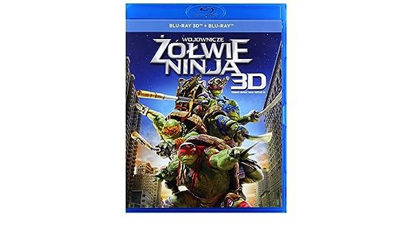 Amazon.com: Ninja Turtles [Blu-Ray]+[Blu-Ray 3D] (English ...