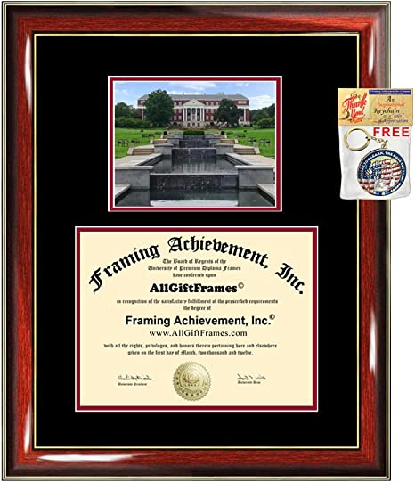 Amazon Com Allgiftframes University Of Maryland College Park Diploma Frame Graduation Degree Double Matted Umd College Campus Photo Graduation Gift Certificate Plaque Diploma Framing Document Case