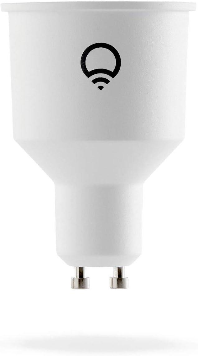 LIFX HB2L3GU10 Ampoule LED, Verre, GU10, 6 W, Blanc