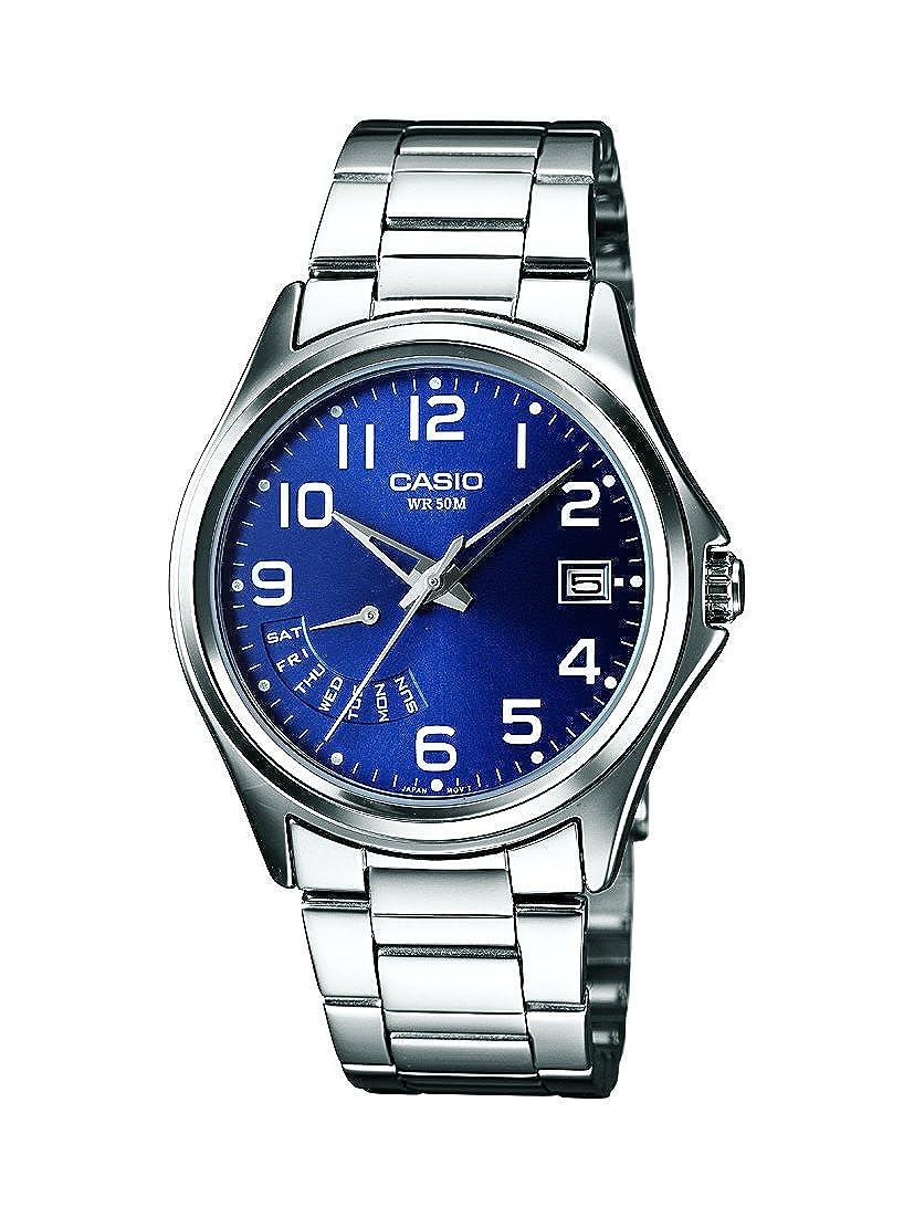 Edelstahl Armbanduhr Analog Collection Xl Casio Mtp Herren Quarz CBdWQrxoe