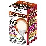日立 LED電球 一般電球形 810lm(電球色相当)HITATCHI LDA7LGS60F