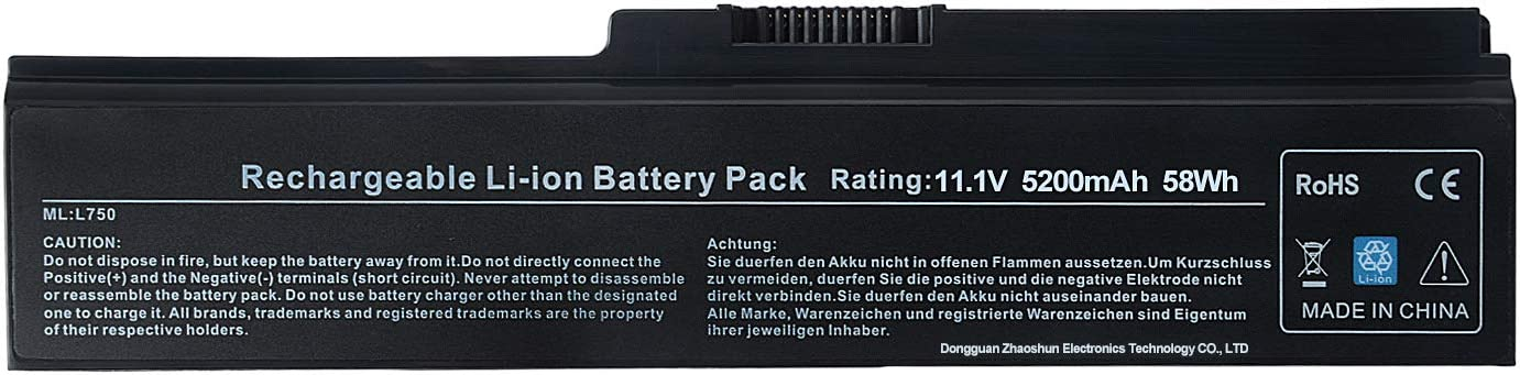 Alipower New Laptop Battery Replacement for Toshiba PA3817U-1BRS PA3819U-1BRS Toshiba Satellite L755 C655 L600 L675 L675D L700 L745 L750 L750D L755D M640 M645 P745 Series