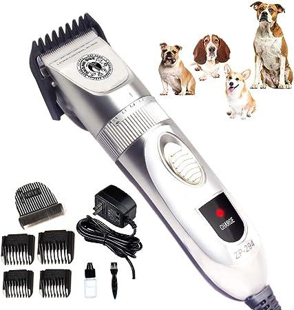 YOYT afeitadora para Perros cortadora de Pelo eléctrica de Alta Potencia Gato Perro Mudo Afeitado Enchufe cortadora de Cabello eléctrica: Amazon.es: Hogar