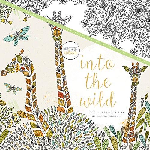 Kaisercolour Perfect Bound Coloring Book-Into The Wild