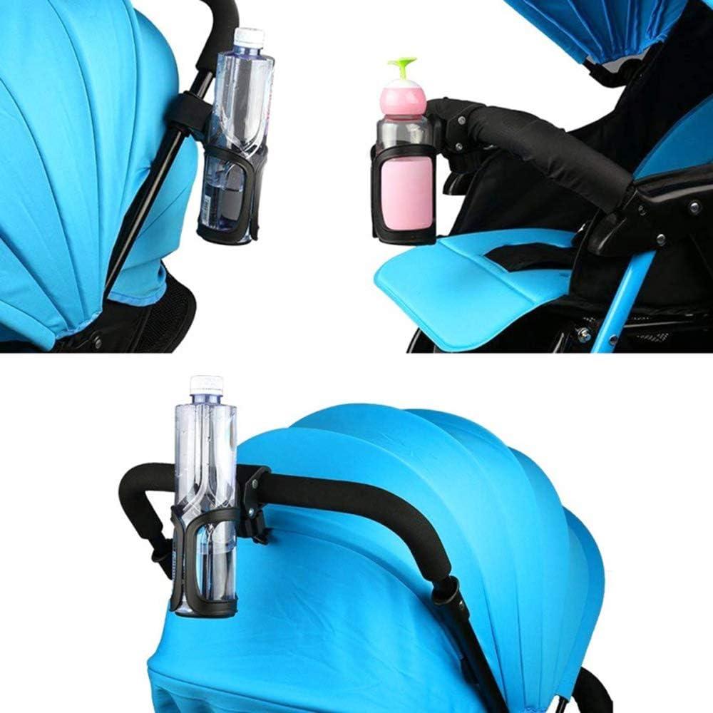 YJS Portavasos de Bicicleta Portabotellas de Agua Universal Soporte para Vasos de Bicicleta de Rotaci/ón de 360 Grados para Bicicletas Bicicletas de Monta/ña,Cochecitos de Beb/é y Sillas de Ruedas PV-01