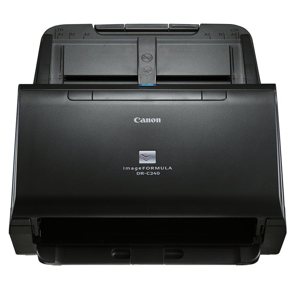 Escáner de Documentos Canon imageFORMULA DR-C240 (45 ppm, 60 Hojas ADF, Pasaporte y dni, escáner de sobremesa): Canon: Amazon.es: Informática