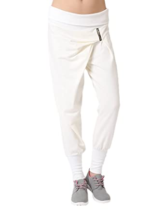 Miss Coquines - Jogging sarouel - Femme - Joggings - tu - blanc  Amazon.fr   Vêtements et accessoires b0e99e5a1cc