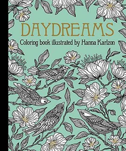 "Daydreams Coloring Book: Originally Published in Sweden as ""dagdrömmar"""