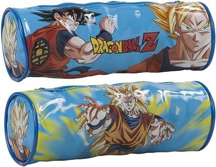 Toei Animation Dragon Ball Z Estuche escolar redondo, 23 x 8 cm: Amazon.es: Oficina y papelería