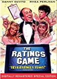 """""""The Ratings Game stars Danny DeVito as a New Jersey trucking magnate who's only dream is hitting it big as a Hollywood producer. Luckily for him, he has a girlfriend (Rhea Perlman) who works for the TV ratings service. Together they pull off a hilar..."""