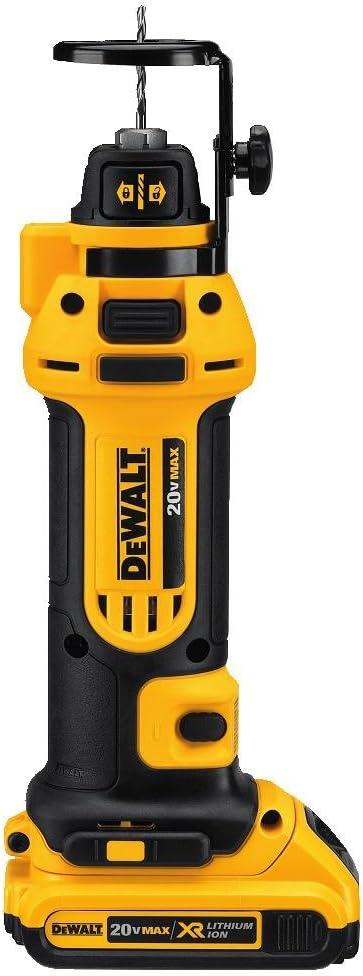 DEWALT Kit de herramientas de corte para paneles de yeso de 20 V MAX (DCS551D2)