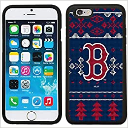 Boston Red Sox Ugly Sweater Design On Black Iphone 6 6s Guardian