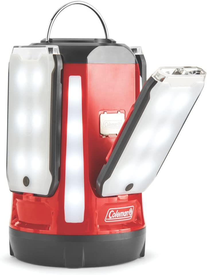 Coleman Quad Pro 800l LED Lantern, Red